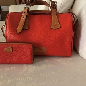 Dooney & Bourke Kendra Satchel and Wallet